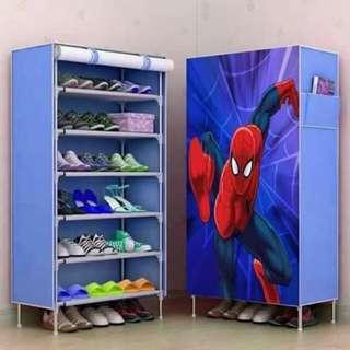 Spider shoe rack