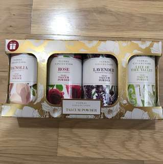 BNIB M&S Talcum Powder Floral collection