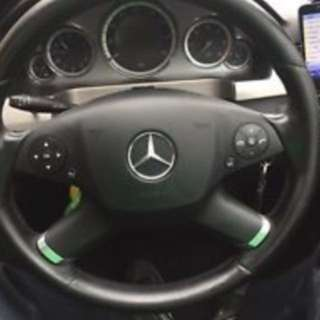 W212 Mercedes steering wheel 2009