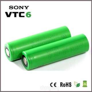 SALE : Sony VTC6 18650 Li-Ion Rechargable Battery 30A