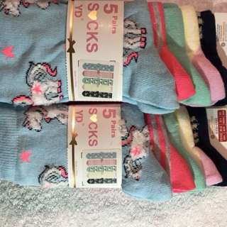 Unicorn Colourful Socks
