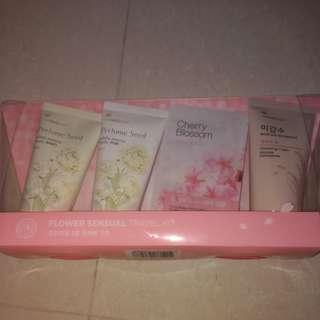 Face shop flower sensual travel kit