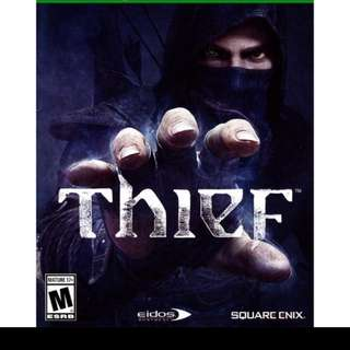 Xbox One:, Thief (Brand New With All DLC Unredeem)