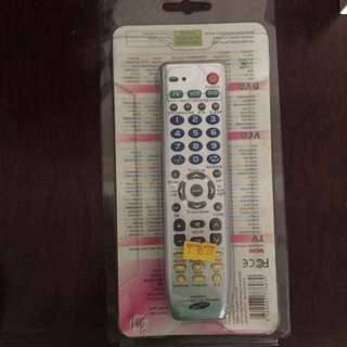 Multipurpose Remote Control for TV and DVD