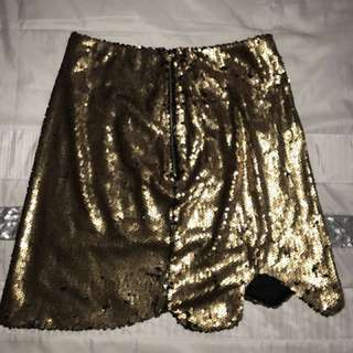 I AM GIA glitter skirt