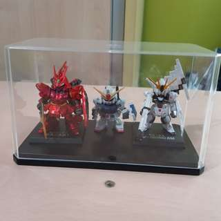 Metallic Gundam Figurines