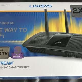 Linksys AC1900+ MU-MIMO Gigabit Router (Brand new sealed)