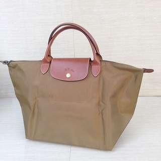 Complete with receipt bought at longchamp greenbelt- Longchamp Le pliage MSH Khaki