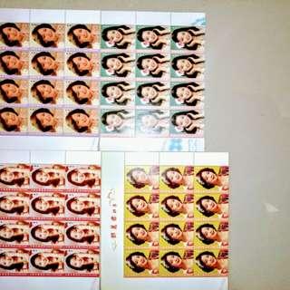 鄧麗君郵票24套