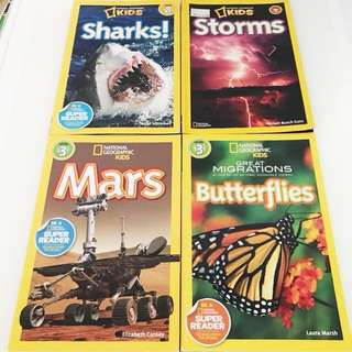 National Geographic Kids Readers Bundle