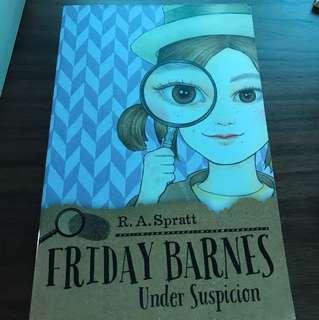 Friday Barnes under suspicion