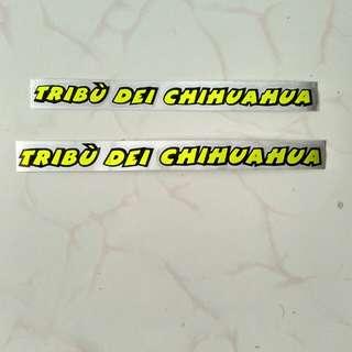 Sticker helm tribu dei cihuahua