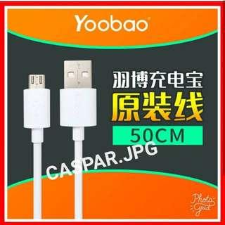 $18 羽博原裝充電線 charge cable 樂視 小米 華為 三星 聯想 Sony LG