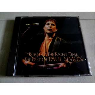 The Best Of Paul Simon CD Born At The Right Time