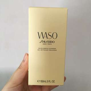 #Contiki2018 Shiseido WASO Quick gentle cleanser