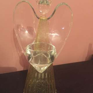 Partylite angel tea light holder