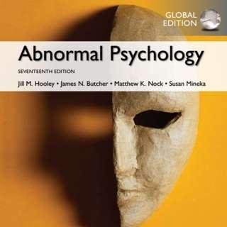 PL3236 Abnormal Psychology Ebook + Testbank