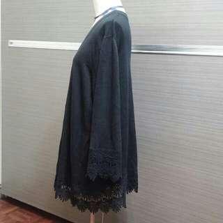 CHARTER CLUB 蕾絲邊外套