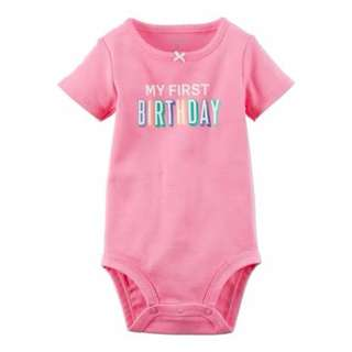Carters My 1st Birthday Suit