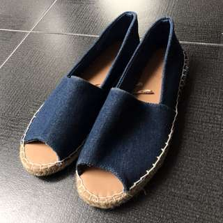 Rubi Flat Shoes Denim