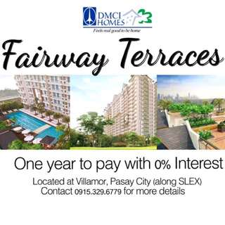 2BR CONDO IN FAIRWAY TERRACES, Pasay City Near NAIA, Makati, and Resorts World Manila