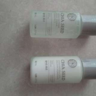 Faceshop chia seed toner n emulsion