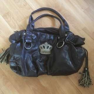 Women's crown handbag
