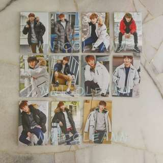 Wanna One Eider Promotional Card