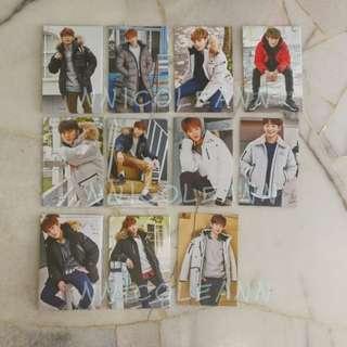 Wanna One Eider Promotional Card