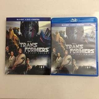 Transformers The Last Knight Blu Ray DVD
