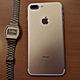 Iphone 7plus rosegold 128gb