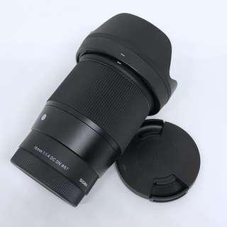 Sigma 16mm f1.4 Sony E mount