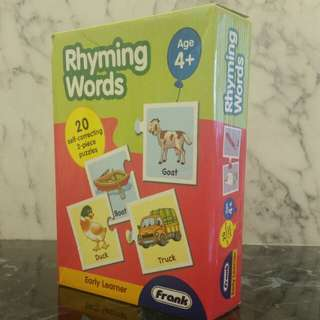 Rhyming Words (Puzzles)