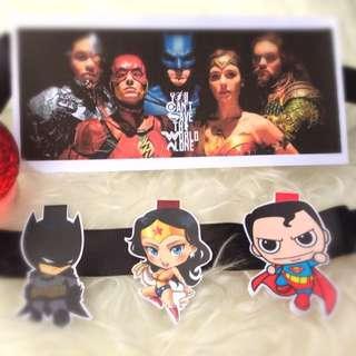 Batman, Wonder Women, Superman DC Series Magnetic Bookmark