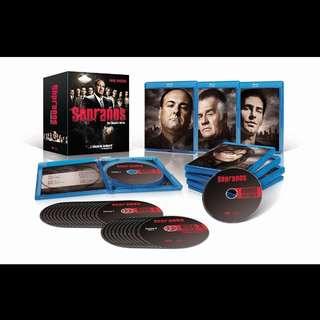 The Sopranos Complete Series Bluray Boxset | 6 seasons | 28 discs