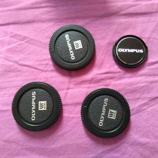 Olympus body cover and lens cover