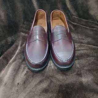 Custom Allen Edmonds Cordovan Loafers (4976 Burgundy)