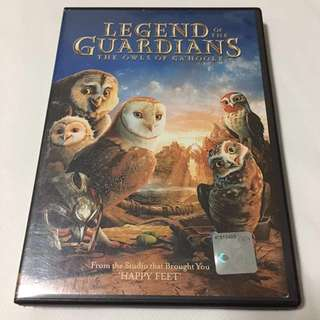 Legend of the Guardians: The Owls of Ga'Hoole Movie DVD