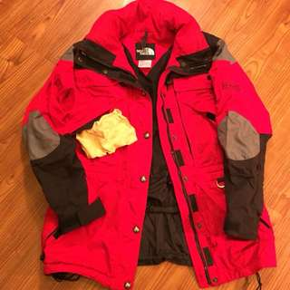 Vintage 90s Northface Extreme Gear Jacket