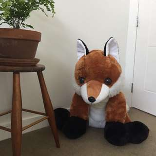 Big plush fox