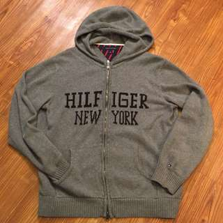 Tommy Hilfigher New York Zip Up Sweater