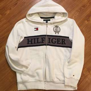 Tommy Hilfigher Zip Up Sweater