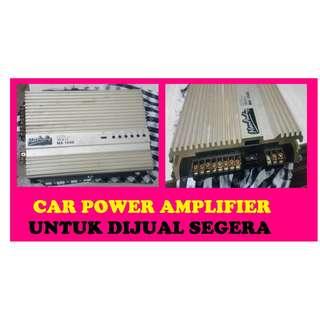 POWER AMP CAR HENDAK DIJUAL SEGERA!!!(CALL/MESEJ/WHATSAP 012-9401926)