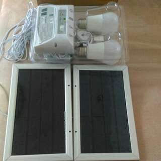 Solar mobile lighting system
