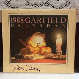 Dear Diary.....Garfield