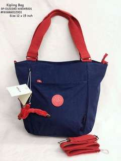 Kipling bag size : 12*15 inches
