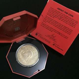 2001 $10 Cupro-Nickel Proof-like Coin