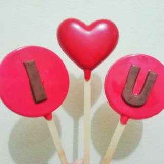 ILoveU set Lollipops