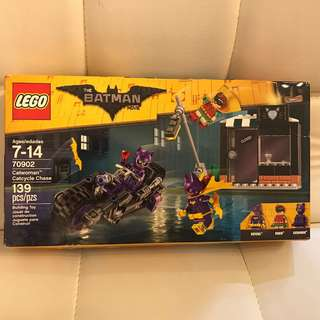Brand New LEGO Batman Movie Catwoman Catcycle Chase 70902