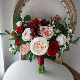 Floral Bouquet 絲花花球